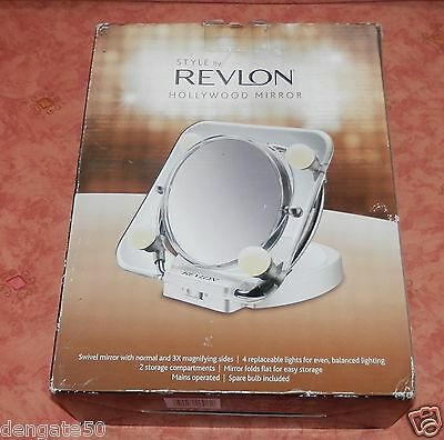 Revlon Hollywood Mirror – Lighted Make Up Mirror (A6)