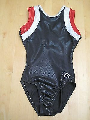 Girls gymnastic leotard, Alpa Factor size CME fits age 8 - 10 years (28-30)