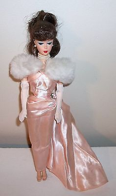 ENCHANTED EVENING BARBIE 1993 MATTEL REPRO of 1958 DOLL, NO BOX DOLL IS COMPLETE
