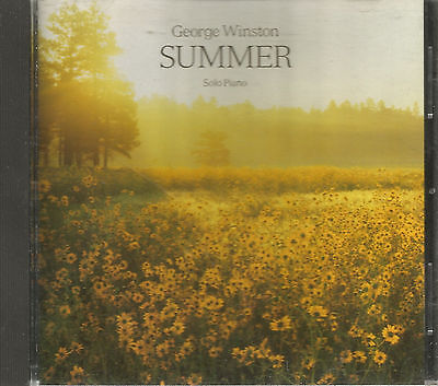 GEORGE WINSTON - Summer - CD - Windham Hill Quality - VG+