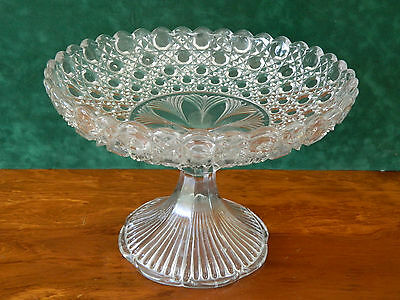 Stunning Very Large Compote Pedestal Dish