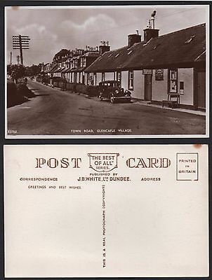 GLENCAPLE Post Office, Town Road. Dumfries. 'Real photo' card