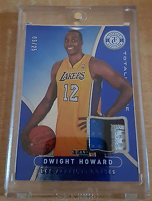 Dwight Howard Blue Lakers Patch - 2012/13 Totally Certified - #9/25