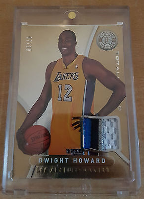 Dwight Howard Gold Lakers Patch - 2012/13 Totally Certified - #2/10