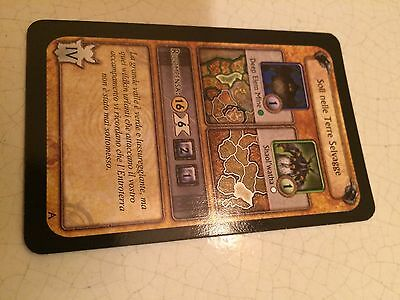 World Of Warcraft/wow Soli Nelle Terre Selvagge Carta Alleanza Boardgame Cards