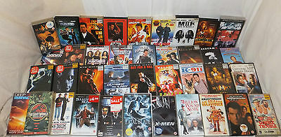 Job Lot 28 VHS Video Cassettes MIXED Film MOVIE Family ACTION Bond CHAN MIB