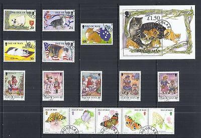 y807 Isle of Man / A Small Collection sets Early & Modern Used