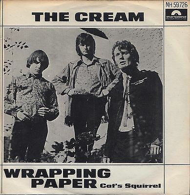 "CREAM: Wrapping Paper (´66 / extremely rare orig. Swedish 7"")"