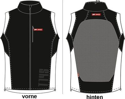 DT Swiss Weste Windbloc Men, XS, schwarz