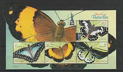 2016 Beautiful Butterflies M/s Used.