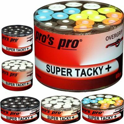 "Auswahl: 30er/60er Boxen Pros Pro ""Super Tacky Plus"" Griffband (30/60 Overgrips+"