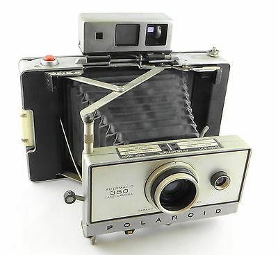POLAROID AUTOMATIC 350 LAND CAMERA mit ZEISS IKON RANGE & VIEW FINDER (8)