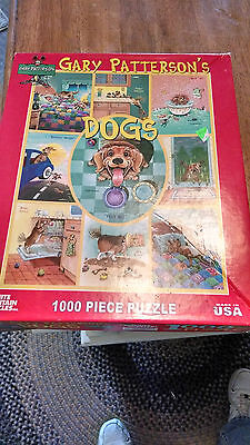 1000 piece White Mountain Jigaw Puzzle- complete