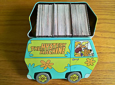 DeAgostini Trading Cards Scooby Doo World of Mystery Machine Tin + lots of cards