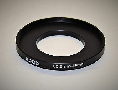 Filter adaptor 30.5mm to 49mm, suitable for Werra cameras