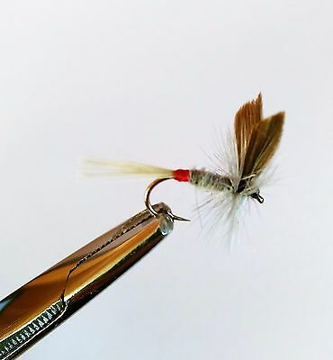 6 Iron Blue Dun Trout Buzzers Trout Lures Dry Fly Fishing Trout Flies