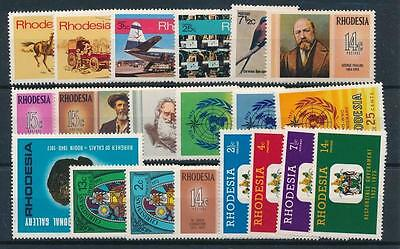 [102675] Southern Rhodesia Good lot of Very Fine MNH stamps