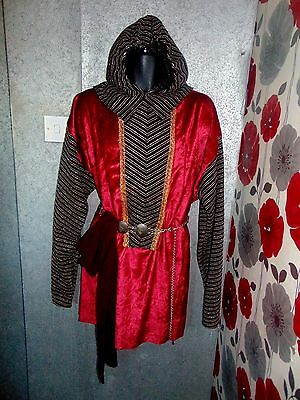Quality Hand Crafted Royal Knight Style 4 Piece Unisex Outfit Size  L