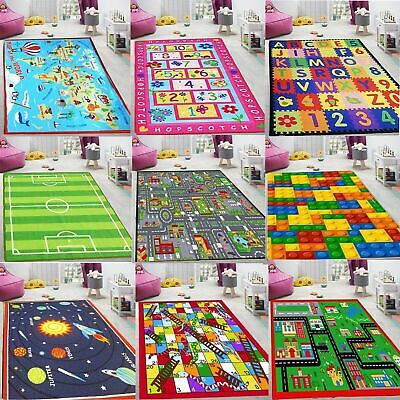 Delicate Kids Girls Boys Bedroom Playroom Non Slip Floor Mat Carpets Play Rugs