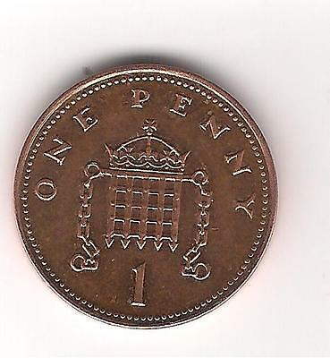 1p Coin one penny QEII Decimal UK 2008 used