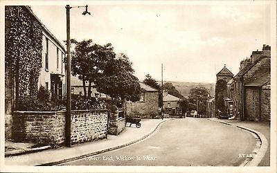 Witton le Wear near Bishop Auckland. Lower End # W.I.W.13 by Tuck.