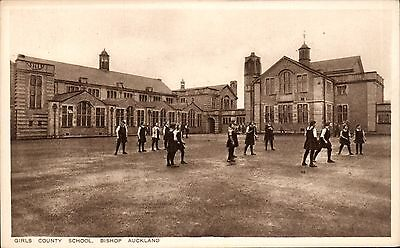 Bishop Auckland. Girls County School by Marshall Keene & Co.