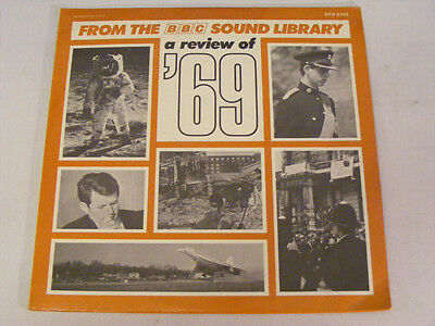 BBC SOUND LIBRARY A Review Of '69 Ex  UK 1969 LP