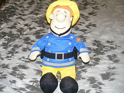 Large Fireman Sam Soft Toy 20 Inches