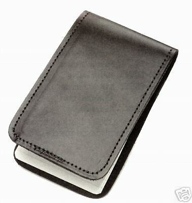 Police Detective Leather Memo Book Cover Note Pad Holder Case New