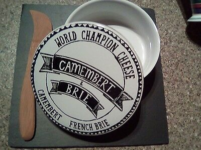 Camembert Baker with Slate Stand