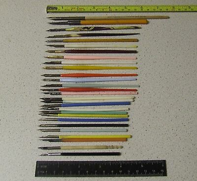 28 Vintage Mapping/Dip Pens BRANDAUER GILLOTTS HINKS WELLS MITCHELL MYERS REEVES