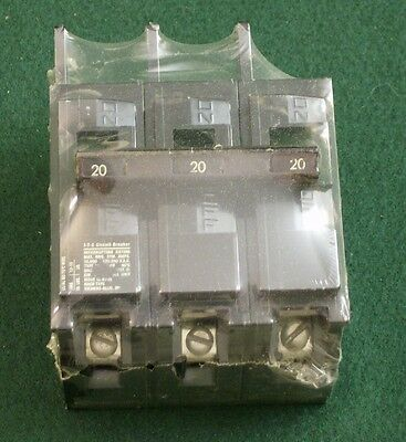 ITE 3-Phase Circuit Breaker 20Amp - Bolt-on Style - Type E-QB