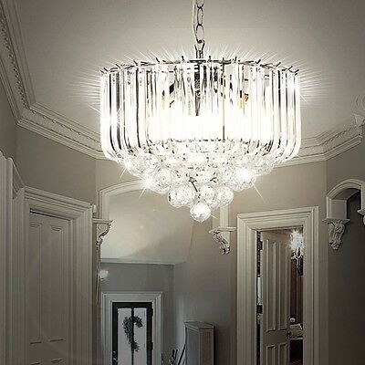 Living Room Dining Ceiling Hanging Pendulum Light Lamp Chandelier