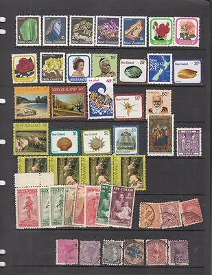 oldhal-New Zealand-Great Lot of MNH from the 1980s plus others