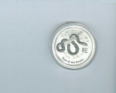 2013 Australia $1 Year Of The Snake Coin- Great Collectible Coins!