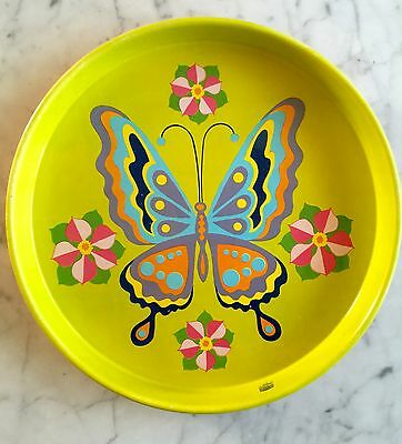 Vintage Cheinco Retro MOD Butterfly Tray