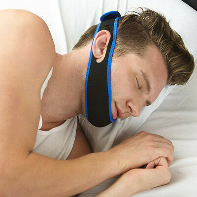 Anti Snore Strap Chin Jaw Supporter For Men Women Care Sleep Stop Snoring Belt