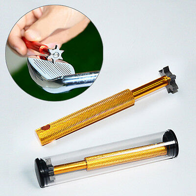 Golf Cleaning Sharpeners Sturdy Club Groove Cleaner Convenient Regrooving Tool