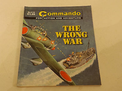 Commando War Comic Number 4118!!,2008,good For Age,09 Years Old Issue,v Rare.