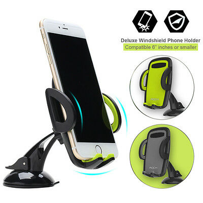 360° Rotating Car Windshield Mount Holder Stand Bracket for Mobile Cell Phone