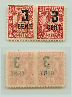 Lithuania, 1922, SC 145a, MNH, missing perf. f3116