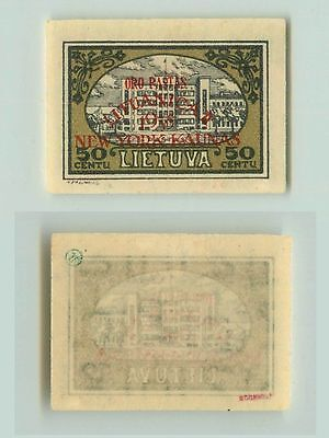 Lithuania, 1932, SC 259, mint, overprint. f2667