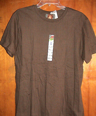 Hanes Brown Cotton T Shirt-Youth Size Xxl/18-New With Tags