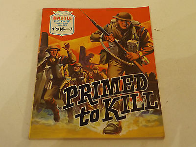BATTLE PICTURE LIBRARY NO 489,dated 1970!,V GOOD FOR AGE,VERY RARE,47 yrs old.