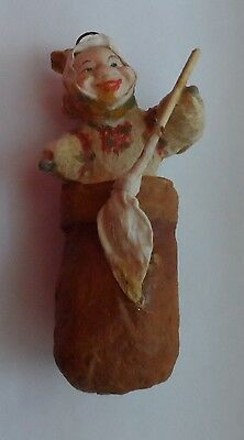 Cotton Pre-War Christmas Ornament, The Original Of The Ussr 1960 №36