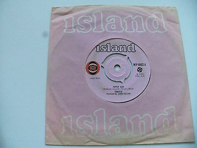 "Traffic:""paper Sun"".1967 Island Pink+""bullseye""labels+Original Island Cover."