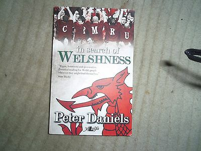 Book - In Search of Welshness by Peter Daniels