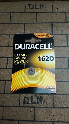 Batteria Cr1620 Duracell Pila Bottone A Litio 3V Dl1620/ecr1620