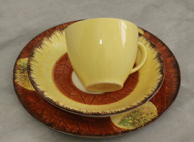 Cottage Ware Cup, Saucer and Cake Plate by Price and Kensington of England,