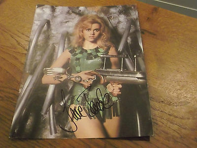 Hand Signed Stunning Jane Fonda Picture- Autograph With Envelope She Sent It In